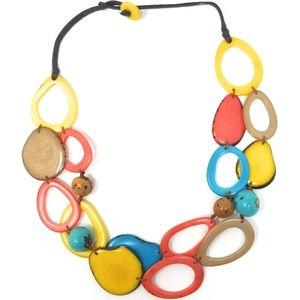 Handmade tagua Nut necklace